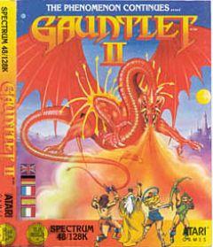 Jaquette de Gauntlet II ZX Spectrum