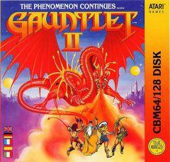 Jaquette de Gauntlet II Commodore 64