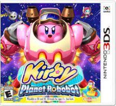 Jaquette de Kirby Planet Robobot Nintendo 3DS