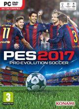 Jaquette de PES 2017 PC