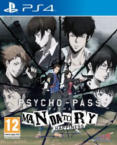 Jaquette de PSYCHO-PASS : Mandatory Happiness PS4