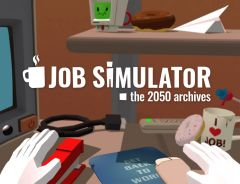 Jaquette de Job Simulator : The 2050 Archives HTC Vive