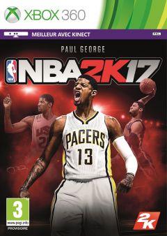 Jaquette de NBA 2K17 Xbox 360