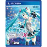 Jaquette de Hatsune Miku : Project Diva X PS Vita