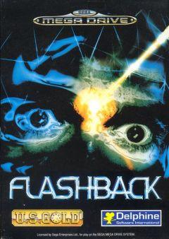 Jaquette de Flashback (Original) Megadrive