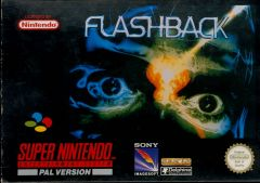 Jaquette de Flashback (Original) Super NES