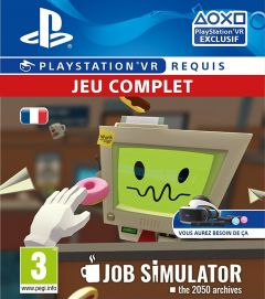 Jaquette de Job Simulator : The 2050 Archives PlayStation VR