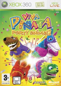 Jaquette de Viva Piñata Party Animals Xbox 360