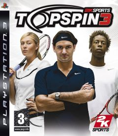 Jaquette de Top Spin 3 PlayStation 3