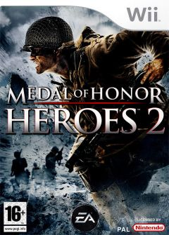 Jaquette de Medal of Honor Heroes 2 Wii