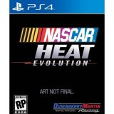 Jaquette de NASCAR Heat Evolution PS4