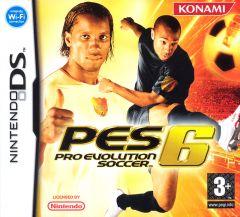 Jaquette de Pro Evolution Soccer 6 DS