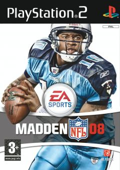Jaquette de Madden NFL 08 PlayStation 2