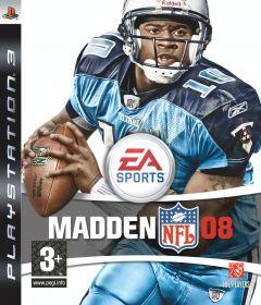 Jaquette de Madden NFL 08 PlayStation 3