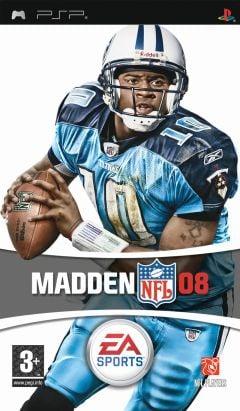 Jaquette de Madden NFL 08 PSP