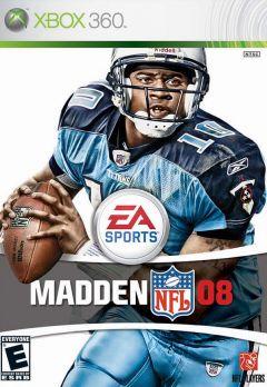 Jaquette de Madden NFL 08 Xbox 360