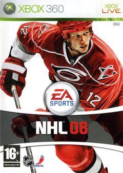 Jaquette de NHL 08 Xbox 360