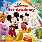 Jaquette de Disney Art Academy New Nintendo 3DS