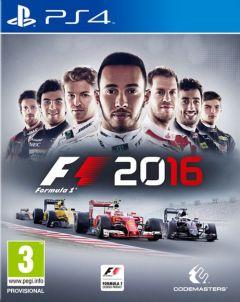 Jaquette de F1 2016 PS4