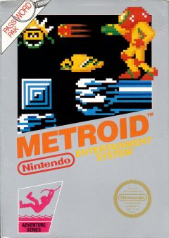 Jaquette de Metroid NES