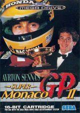 Jaquette de Ayrton Senna's Super Monaco GP II Mega Drive