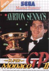 Jaquette de Ayrton Senna's Super Monaco GP II Master System