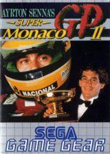Jaquette de Ayrton Senna's Super Monaco GP II GameGear