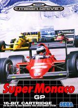 Jaquette de Super Monaco GP Megadrive