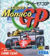 Jaquette de Super Monaco GP GameGear
