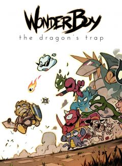 Jaquette de Wonder Boy : The Dragon's Trap PS4