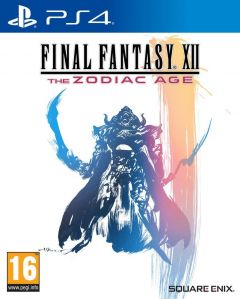 Jaquette de Final Fantasy XII : The Zodiac Age PS4