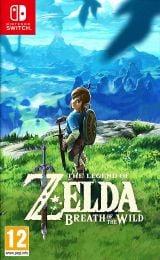 Jaquette de The Legend of Zelda : Breath of the Wild Nintendo Switch