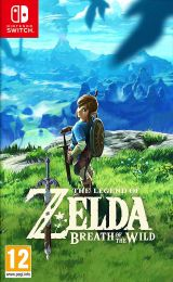 Jaquette de The Legend of Zelda : Breath of the Wild Nintendo Switch
