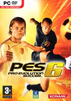 Jaquette de Pro Evolution Soccer 6 PC