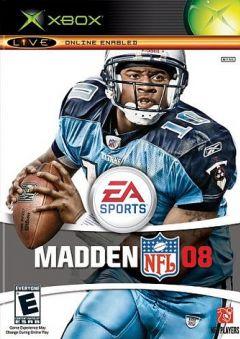 Jaquette de Madden NFL 08 Xbox