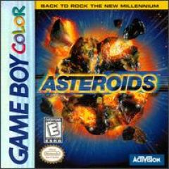 Jaquette de Asteroids Game Boy Color
