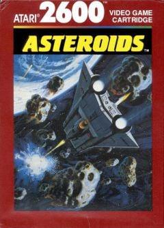 Jaquette de Asteroids Atari 2600