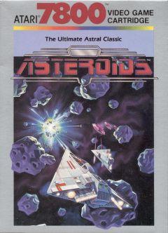 Jaquette de Asteroids Atari 7800