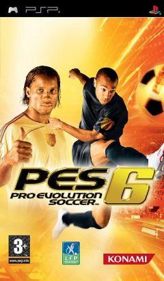 Jaquette de Pro Evolution Soccer 6 PSP