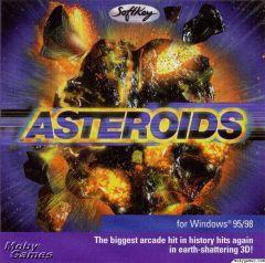 Jaquette de Asteroids PC