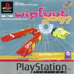 Jaquette de WipEout 2097 PlayStation