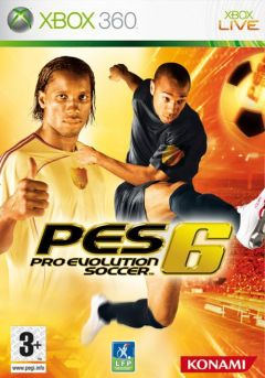 Jaquette de Pro Evolution Soccer 6 Xbox 360