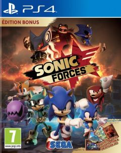Jaquette de Sonic Forces PS4