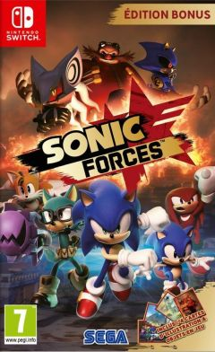 Jaquette de Sonic Forces Nintendo Switch