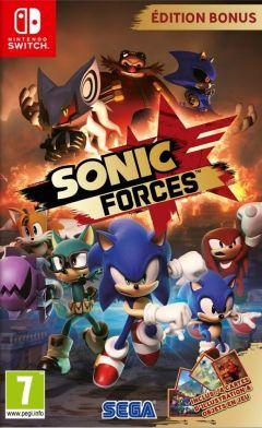 Jaquette de Sonic Forces Nintendo Switch