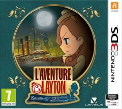 Jaquette de L'Aventure Layton : Katrielle et la conspiration des millionnaires Nintendo 3DS