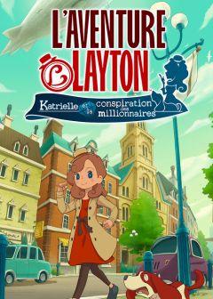 Jaquette de L'Aventure Layton : Katrielle et la conspiration des millionnaires iPhone, iPod Touch