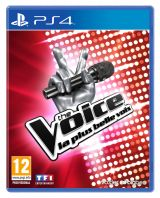 Jaquette de The Voice, la plus belle voix PS4