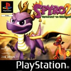 Jaquette de Spyro 2 PlayStation
