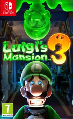 Jaquette de Luigi's Mansion 3 Nintendo Switch